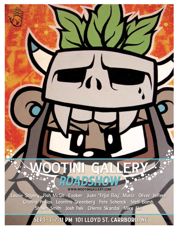 Wootini Gallery Roadshow